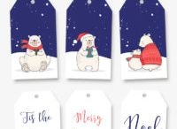 kerst tags/labels