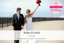 Featured Real Wedding: Robyn & Guido {from the Summer/Fall 2014 Issue of Real Weddings Magazine} / Robyn & Guido-Featured Real Wedding from the Summer/Fall 2014 issue of Real Weddings Magazine, www.realweddingsmag.com. Photos by and copyright www.MemoryJournalists.com; Videographer/Photo Booth: www.JensonFilms.com, www.JensenPhotoBooth.com; Bridal Attire: www.HofBridal.com; Flowers: www.AmbienceFloral.com. See more here: http://www.realweddingsmag.com/featured-real-wedding-robyn-guido-from-the-summerfall-2014-issue-of-real-weddings-magazine/