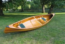 Canoes and boats
