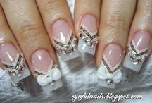 Wedding Nail Art Ideas / We collect different wedding nail art for you to have an idea for your upcoming wedding!