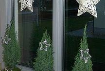 okno dekorace