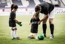 Football3color Kids / Kinderfussballschuhe nach unserer Football3color Lernmethode nach Farben Fussball spielen! www.football3color.eu