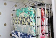 sewing room ideas/storage