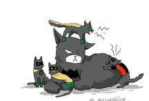 Batfamily Cats