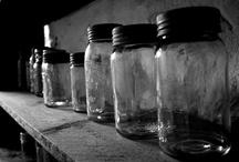 Antique Bottles~Historical Jars~Vintage Glass