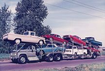 Car Carrier From the Past