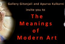 The Meaning of Modern Art / Gallery Gitanjali invites you to the opening session of The Meanings of Modern Art on 13th September at 6.00 p.m.   Presented by artist and art historian Apurva Kulkarni, it will be a visual journey tracing the roots of modern art right from Impressionism to the present.  For more details follow us at: https://www.facebook.com/events/347283828759702/