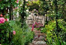Romanttinen puutarha - Romantic garden