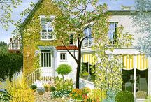 illustrazioni giardini