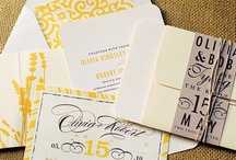 Stationery / Your invites set the tone of your wedding.  Here is some great inspiration.   / by Couture Closet