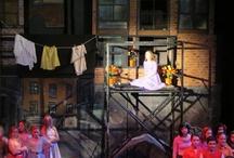 West Side Story set