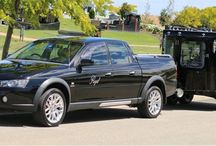 Regal's unique carrier / Located in Melbourne, Regal Funeral Services offer this one of a kind funeral hearse carrier - every inch has been carefully crafted and designed to give loved ones their most dignified final journey