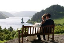 Vyrnwy Weddings... / Photos from beautiful days gone by, and a little bit about some of our wonderful suppliers.  / by Lake Vyrnwy Hotel & Spa