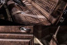 the car upholstery
