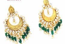India Kundan Jewellery / Traditional kundan jewellery was manufactured kundan necklace sets, kundan earrings  kundan pendant sets , kundan nath, kundan mang tika, heavy kundan bridal sets,  // SHUBHAM CREATIONS \\