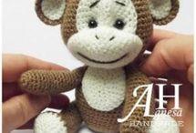 maimuta amigurumi