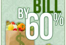 way to save on grocery bill60 percent