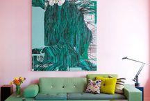 Colorful interiors