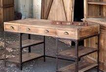 industrial style desk ideas
