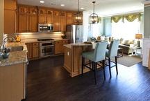 Kitchen floors & counters