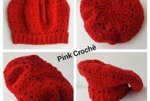 Gorro / Pink Crochê