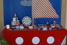 Sailor's / Nautical themed party decors and kids room decorations