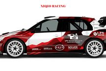 Xiqio Racing Team / New design and wrap of two race cars for slovak Xiqio Racing Team