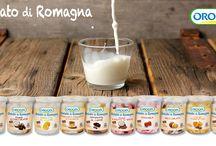 Gelato di Romagna / Dalla Romagna, la terra del benessere e del vivere bene, un gelato artigianale soffice e cremoso. Gusto, varietà, alta qualità delle materie prime e latte fresco intero a km 0, questo è il Gelato di Romagna!