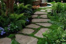 Gartenideen / Zum Traumhaus gehört ein Traumgarten. Und bis es soweit ist, schadet es auf keinen Fall Ideen zu sammeln und sich schon einmal hin zu träumen, in den perfekten Garten.