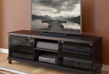 TV Stands / TV Stands and Consoles to hold up your TV and keep all your electronics organized.