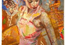 Charles Dwyer / Figurative- Expressionist Painting