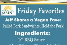 Friday Favorites / Good Day Maine's Jeff Peterson, Jennifer Lynch and Craig Miller share their favorite things!