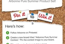 Arbonne Pure Summer Contest / by Samantha Muleady