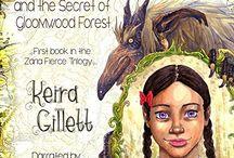 Girl power: Zaria Fierce Audiobook, written by Kiera Gillette.