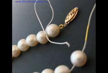 Nodi da gioielliere per fili perle