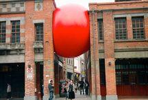 Installations and Urban Art