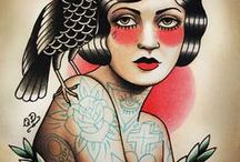 Pin-Up Tattoo IDEAS