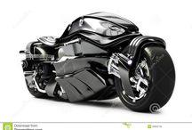 futuristic bikes