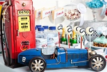 Vintage Race Cars Theme Party