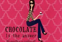 Chocoholic....I'm Guilty! / ~~Chocolate doesn't make the world go around....but it certainly makes the trip worthwhile!~~ / by Margie Alexander