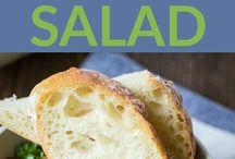 Bean Salads.  Light suppers