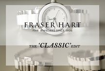 The 'Classic' Edit / A board of our most classic and traditional watch brands