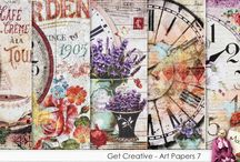 Art Journal - Artist Backgrounds