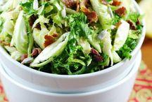 Salad and Slaw Recipies / by Melinda Morse
