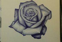 ruusu tatuointiin