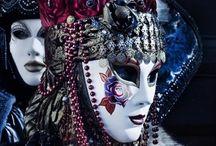 Carnaval de Venise / Masques et costumes à Venise.