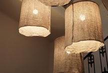 PAPER / FABRIC LAMPS
