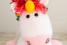licorne crochet