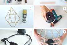 DIY Deco / En este tablero encontraras proyectos Do It Yourself (DIY) de decoración realizados en el blog www.miscelaneadiy.com