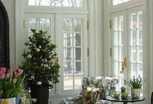 Arched window house
